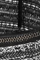 Roberto Cavalli Chain-trimmed bouclé jacket