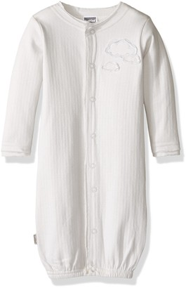 Kushies Baby L15670039 Soft Pointelle Convertible Gown