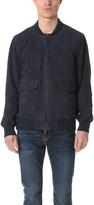 Levi's Suede Bomber Jacket