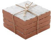 Thirstystone Set Of 4 Copper Edge Marble Coasters