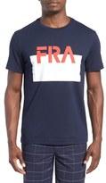 Lacoste 'Sprinter' Graphic Crewneck T-Shirt