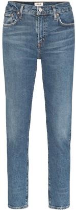 A Gold E Agolde Toni slim fit jeans