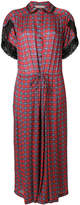 Preen Line Willow plaid dress