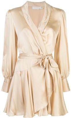 Zimmermann Super Eight wrap dress