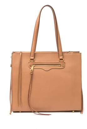 Rebecca Minkoff Always On Side Leather Zip Regan Tote