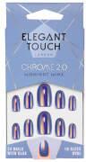 Elegant Touch Chrome 2.0 Nails - Midnight Minx