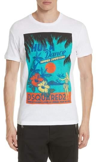 DSQUARED2 Hula Graphic T-Shirt