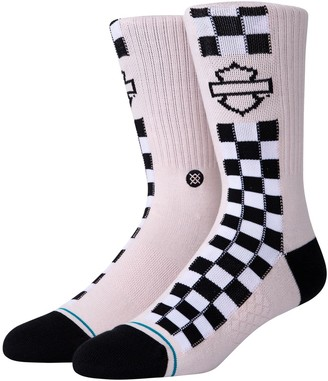 Stance Harley Side Check Socks