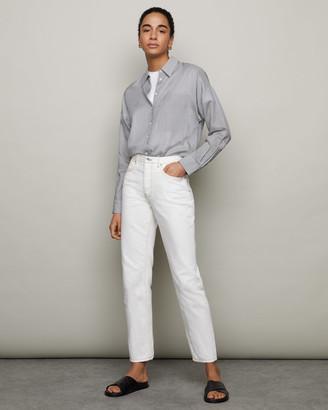 Jigsaw Rye Fine Stripe Shirt