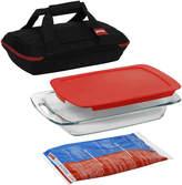 Pyrex Portables 4-pc. Bakeware Set