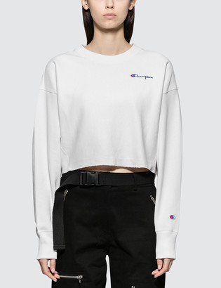 Champion Reverse Weave Cropped Crewneck Sweatshirt