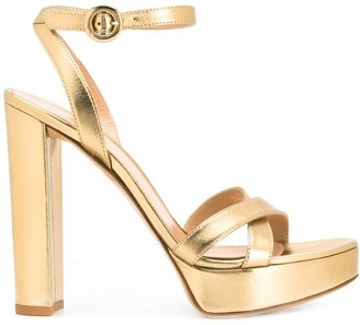 Gianvito Rossi Chunky Heeled Sandals