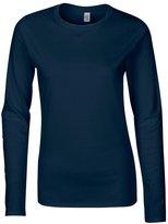 Gildan Softstyle womens long sleeve t-shirt S