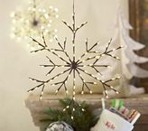 Pottery Barn Kids Hanging Light-up Snowflakes