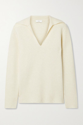 Vince Wool And Cashmere-blend Sweater - Ecru
