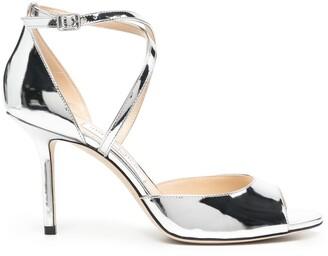 Jimmy Choo Emsy 85mm high heel sandals