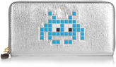 Anya Hindmarch Space Invader zip-around leather wallet