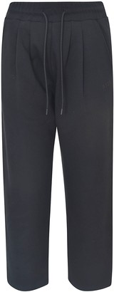 MSGM Straight-leg Cropped Track Pants