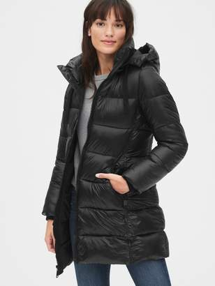 Gap ColdControl Max Puffer Coat with Detachable Hood