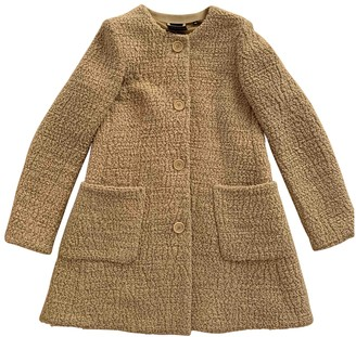 Aspesi Beige Wool Coat for Women
