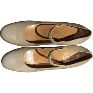 Joseph White Leather Heels