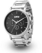 Edwin ELEMENT Men's Stainless Steel Case Chronograph Watch with Stainless Steel Band Dial