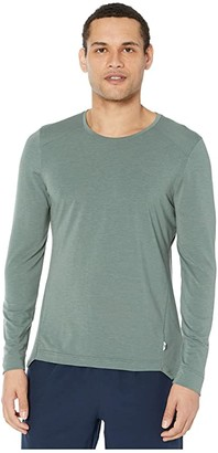 On Comfort Long-T (Olive) Men's Clothing