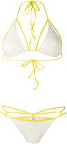 Sian Swimwear - triangle bikini set - women - Polyamide/Spandex/Elastane - S
