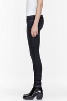 R 13 Black speckled X-Skinny Jean