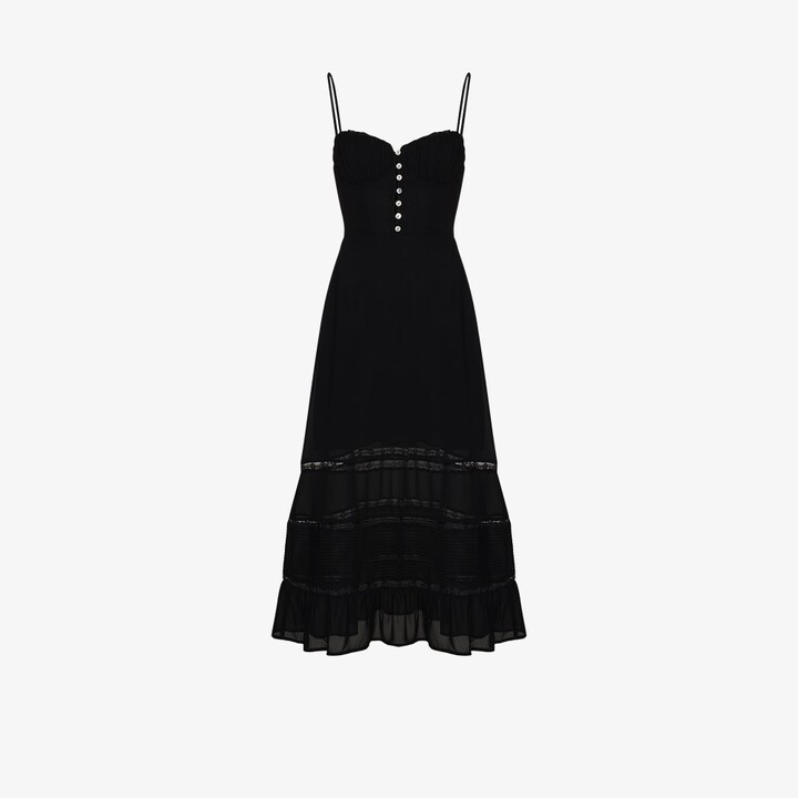 Thumbnail for your product : Reformation Harvest V-Neck Dress - Women's - Viscose