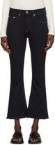 Rag & Bone Indigo Crop Flare Jeans