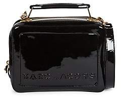 Marc Jacobs Women's The Box 23 Patent Leather Top Handle Bag