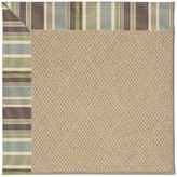 Zeppelin Machine Tufted Multi-colored/Beige Indoor/Outdoor Area Rug Longshore Tides Rug Size: Rectangle 2' x 3'