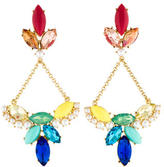 Lulu Frost Multicolor Crystal Chandelier Earrings