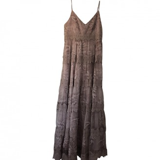 Anthropologie Purple Lace Dress for Women