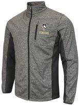 Men's Pittsburgh Penguins Space-Dye Full-Zip Fleece Jacket