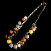 Desert floral bauble necklace