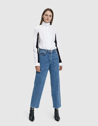 Aalto Straight Seamed-Front Jean