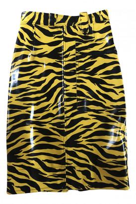 Kwaidan Editions Yellow Synthetic Skirts