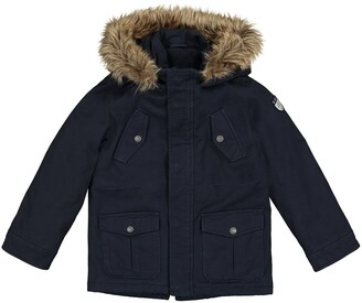 La Redoute Collections Cotton Hooded Parka, 3-12 Years