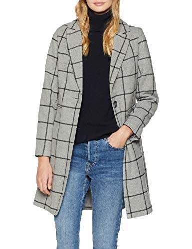 New Look Women's 5891572 Coat, (Mid Grey), (Size:)