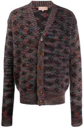 Vivienne Westwood Argyle Knit Cardigan
