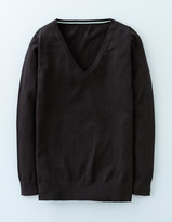 Boden Everyday Relaxed V Sweater
