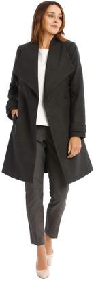 Basque Wrap Coat