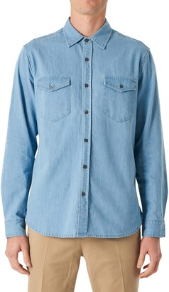 Neuw Waits Denim Button-Up Shirt