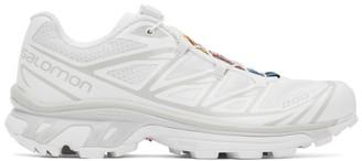 Salomon White XT-6 Advanced Sneakers
