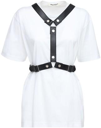 Junya Watanabe Oversize Cotton Jersey T-shirt W/harness