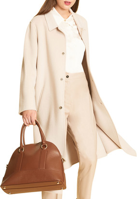 Marina Rinaldi Plus Size Tarina Double-Face Wool Coat