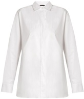 The Row Big Juliette Hope embroidered-cuff cotton shirt
