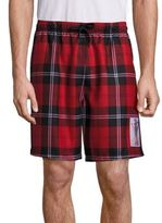 Alexander Wang Soccer Plaid Wool Shorts